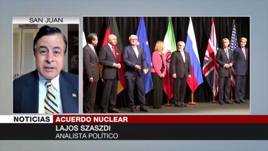 'Macron es un satélite de EEUU y no busca salvar pacto nuclear'