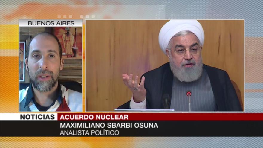 Sbarbi: Irán demostrará que su ultimátum no son palabras vacías