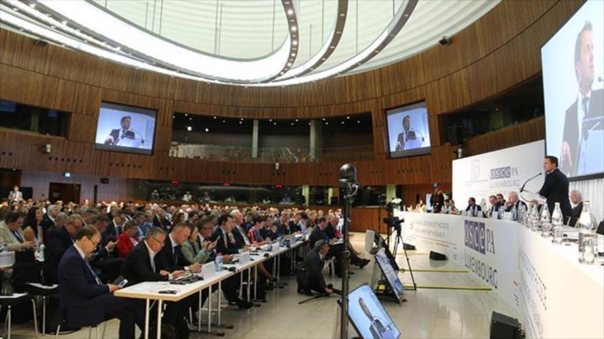 Reunión de la Asamblea Parlamentaria de la Organización para la Seguridad y la Cooperación en Europa (OSCE) en Luxemburgo, 6 de julio de 2019.