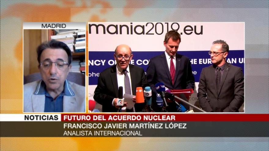 Martínez López: Instex sería útil si Europa compra petróleo iraní