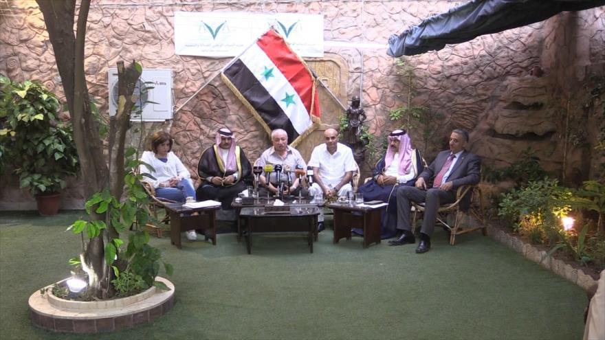 Sirios avanzan sobre la formación del Comité Constitucional