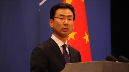 China repudia 'intimidación unilateral' de EEUU a Irán
