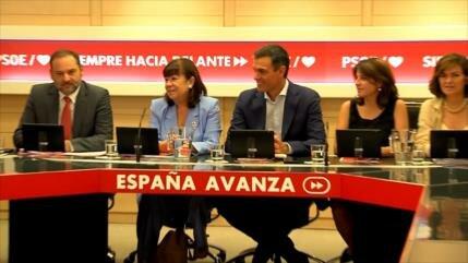 """Sánchez marca la estrategia de un gobierno """"monocolor"""" en España"""