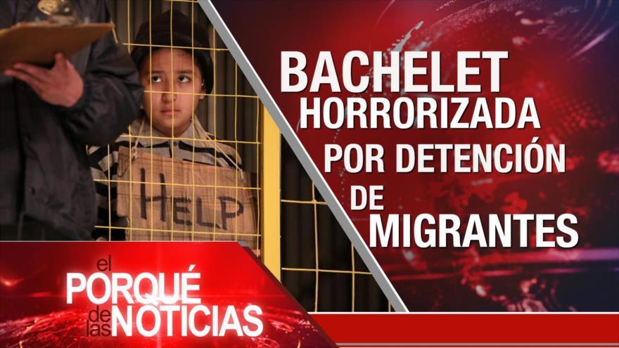 El Porqué de las Noticias: Pacto nuclear. Migrantes en EEUU. Cólera en Yemen