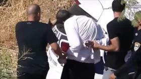 Vídeo: Policía israelí golpea a judío que no evita su arresto