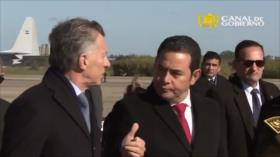 El presidente de Guatemala es denunciado penalmente una vez más