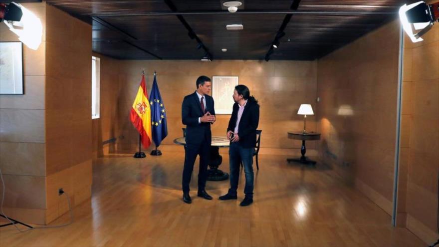 Sánchez fracasa en lograr apoyo de Podemos para su investidura