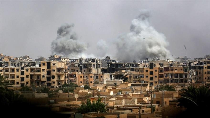HRW urge a coalición de EEUU a indagar matanza de civiles en Siria | HISPANTV