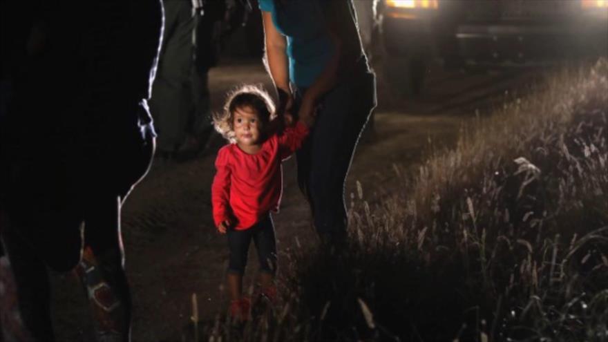 Fotos que sacuden al mundo: Niña Mexicana Llorando