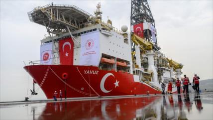 Turquía seguirá con sus perforaciones petroleras cerca de Chipre