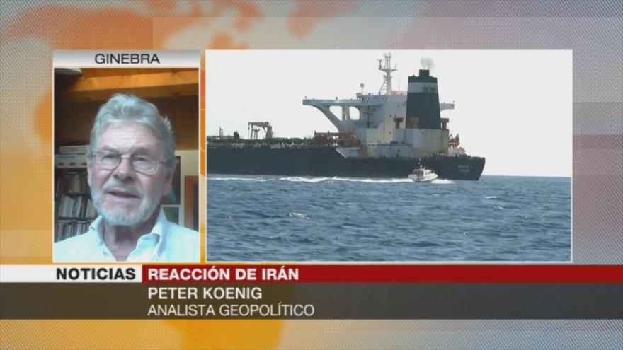 Koenig: Captura de buque con crudo iraní es provocación de guerra