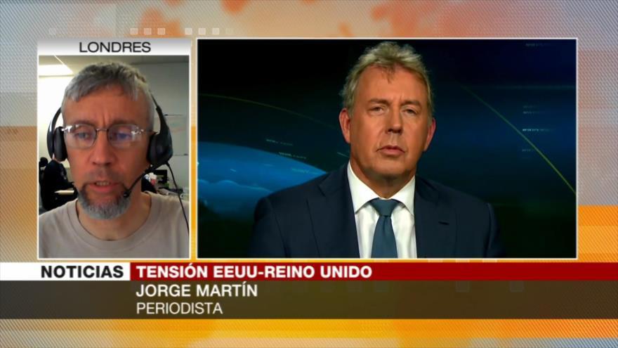 Martín: El Reino Unido está subordinado a políticas de EEUU