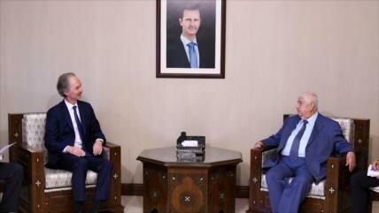ONU y Siria anuncian avances en formación de comité constitucional