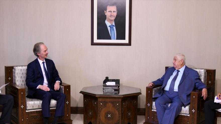 ONU y Siria anuncian avances en formación de comité constitucional   HISPANTV