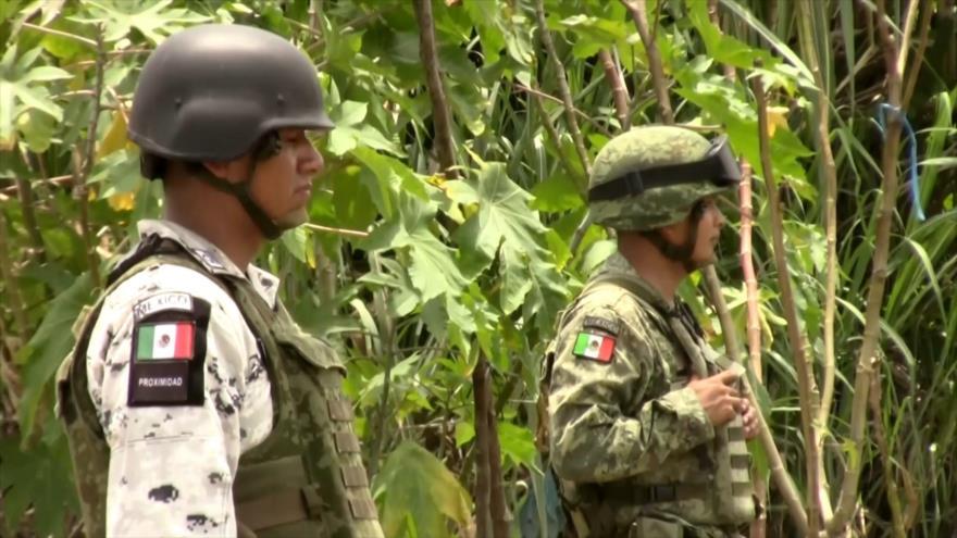 Guardia Nacional continúa vigilando la frontera sur de México