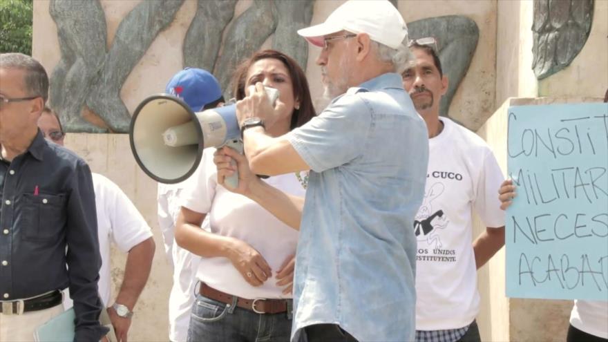 Jóvenes panameños respaldan una Asamblea Constituyente
