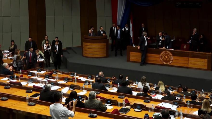 Paraguay retoma su banca diputado vinculado a narcotráfico