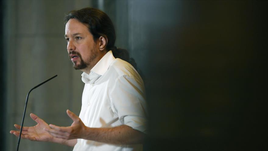 """Iglesias pide a Sánchez renunciar al """"gobierno monocolor"""""""