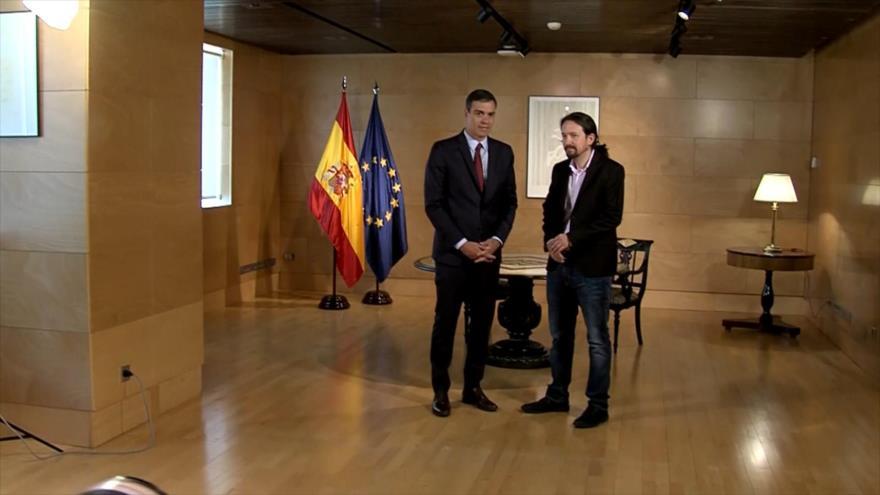 26,4 % de españoles prefiere un Gobierno de coalición con Podemos | HISPANTV