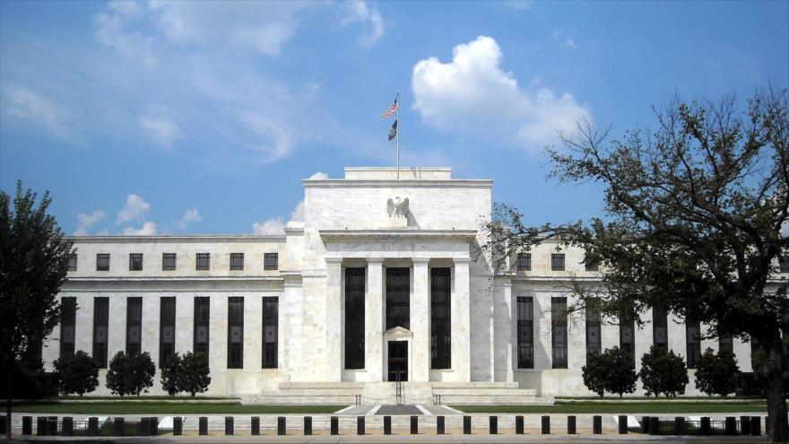 La sede de la Reserva Federal de EE.UU., en Washington DC, capital estadounidense.