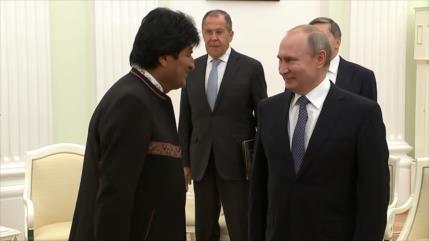 Rusia y Bolivia refuerzan lazos en materia económica y política
