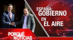El Porqué de las Noticias: Programa nuclear de Irán. Incertidumbre en España. Tráfico de niñas Jeffrey Epstein