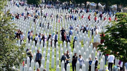 Recuerdan la peor masacre en Europa tras la II Guerra Mundial