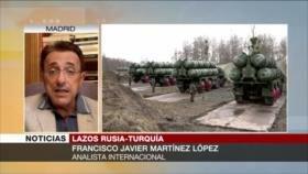 Martínez López: Compra de S-400 rusos por Turquía debilita a OTAN