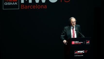 Presidente independentista catalán irá a juicio por desobediencia