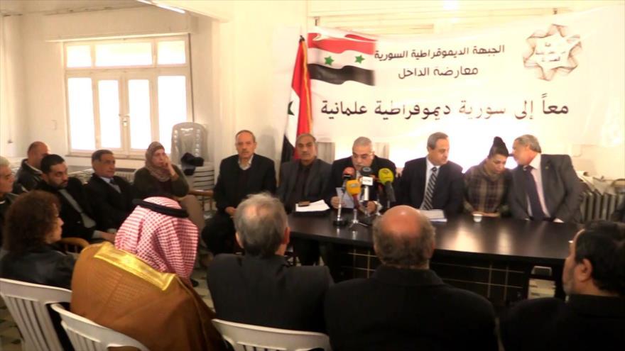 Oposición Siria busca ser representada en el Comité Constitucional