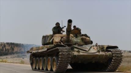 Ejército sirio avanza en Hama tras contraofensivas antiterroristas