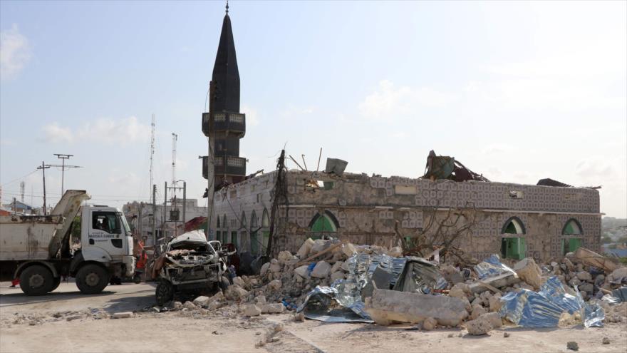 Atentado de Al-Shabab contra un hotel en Somalia deja 10 muertos