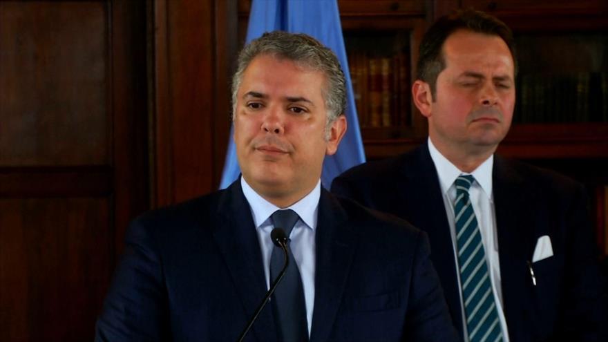 Duque pide extender verificación de la ONU al acuerdo de paz