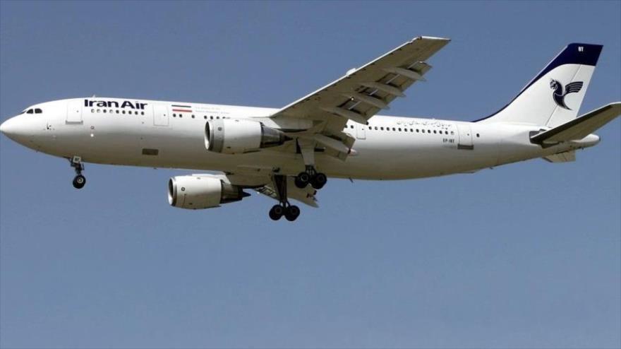 Un Airbus A-300 similar al avión iraní contra el que el crucero Vincennes de EE.UU. lanzó un ataque en julio de 1988.