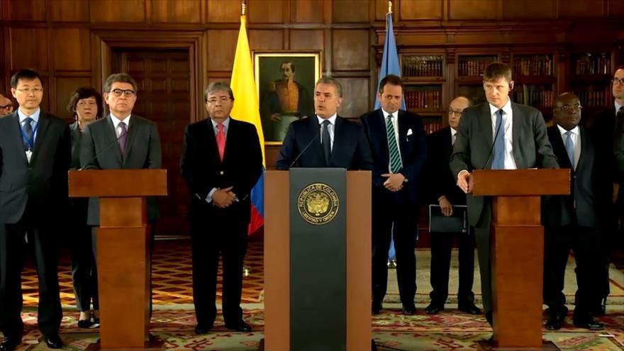 Posición de Iván Duque sobre acuerdo de paz causa controversia | HISPANTV