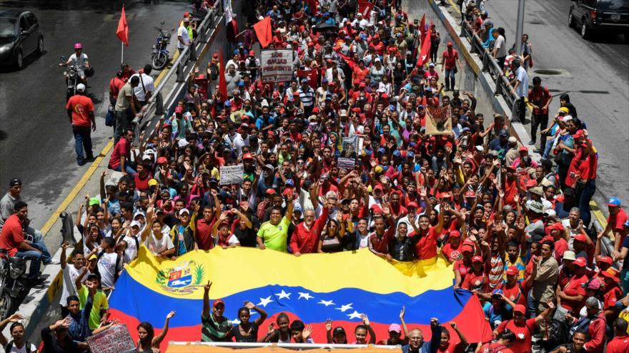 Venezolanos rechazan informe de Bachelet sobre situación de DDHH   HISPANTV