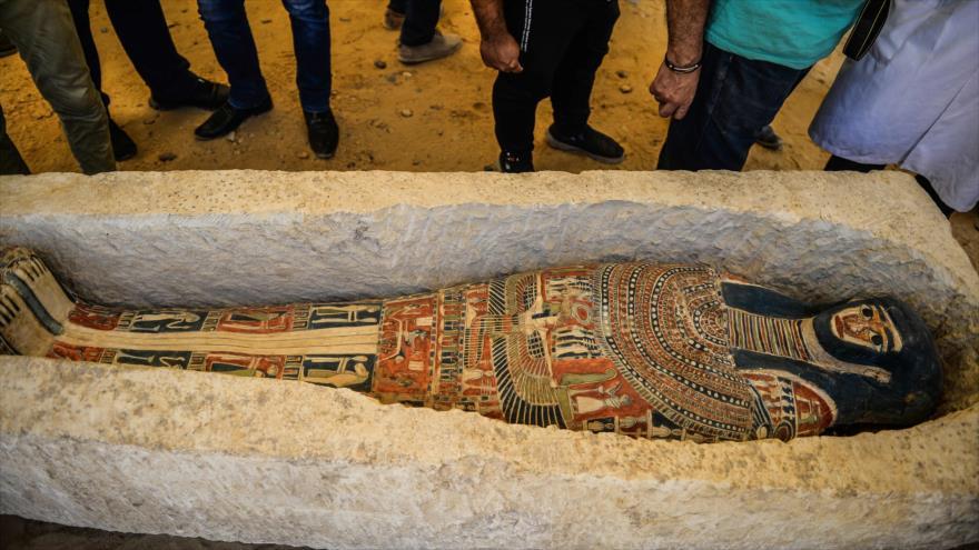 Egipto ha abierto a los visitantes dos de sus pirámides más antiguas a 40 kilómetros de El Cairo, 13 de julio de 2019.