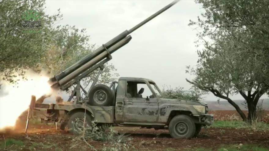 Ejército yemení y Ansarolá atacan con misiles a mercenarios saudíes | HISPANTV