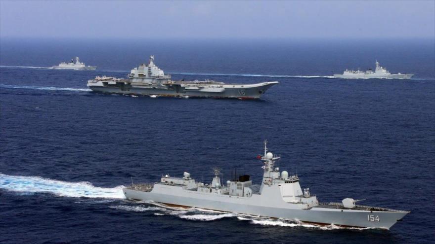 China realiza maniobras ante tensiones con EEUU y Taiwán   HISPANTV