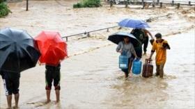 Al menos 43 de muertos por lluvias torrenciales en Nepal