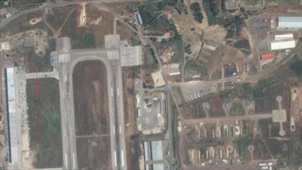 Fotos satelitales muestran arsenal de cazas de Rusia en Siria