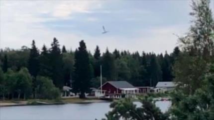 Nueve muertos al estrellarse una avioneta en el noreste de Suecia