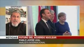 Jofré Leal: Chantaje de EEUU impide a Europa salvar pacto nuclear