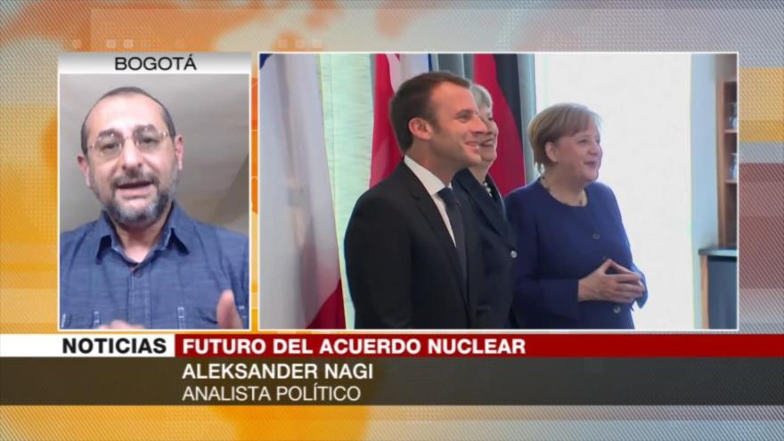 Nagi: Europa no tiene intención de salvar el acuerdo nuclear