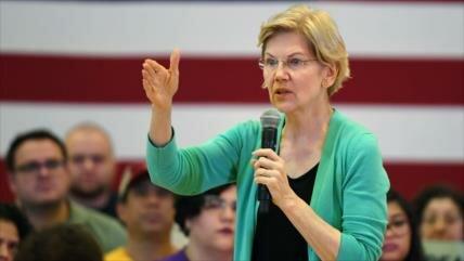 Precandidata promete investigar crímenes de EEUU contra migrantes