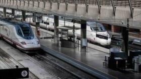 La huelga en España provoca la cancelación de 320 trenes