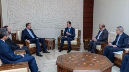 Al-Asad: Siria permanece junto a Irán ante actos ilegales de EEUU