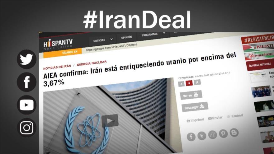 Etiquetaje; Irán vs. EE.UU.: ¡Donde las dan, las toman!
