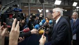 Borrell: España se unirá a Instex ante embargos antiraníes de EEUU