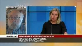 Gil: Presión de EEUU a Irán por caso nuclear afectará a Europa